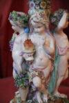 Sculture Grande alzata in porcellana Meissen fine 700