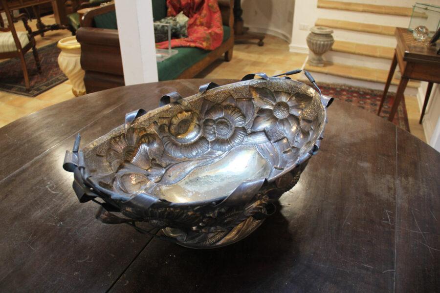 Sculture Coppa in argento e vermeil