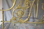 Letti Letto in bronzo a baldacchino Carlo X