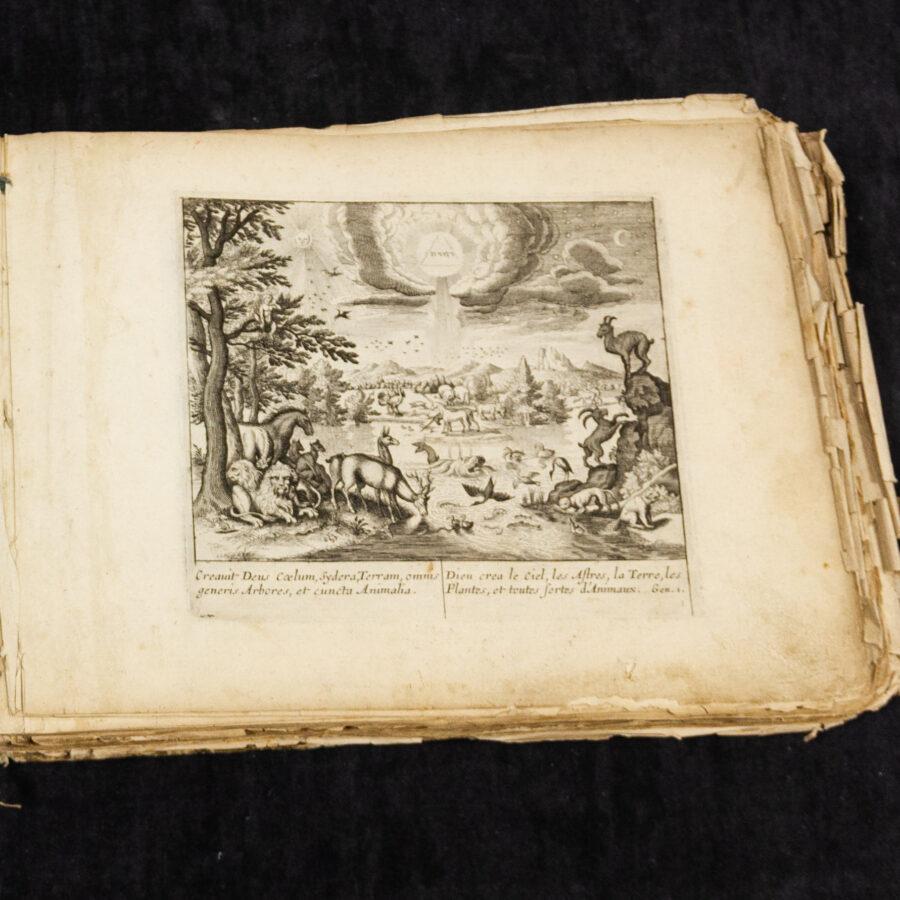 Libri Antico e Nuovo Testamento Figurativo 1600