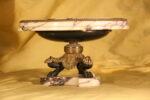 Alzate Alzata in bronzo e marmo