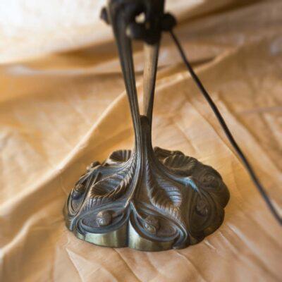 Lampade Lampada Leleu Art Nouveau