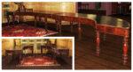 Tavoli Tavolo da riunione Romano primi 800 a ferro di cavallo