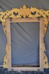 Cornici Specchiera rettangolare con cimasa Luigi XVI
