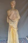 Sculture Statua in legno laccato